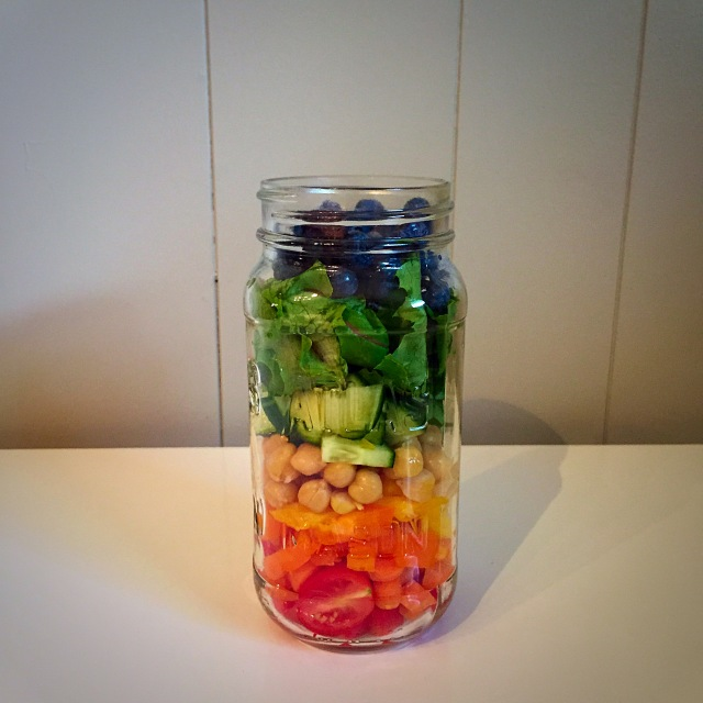 Sweet n' Simple Jar Salad