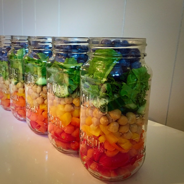 Sweet n' Simple Jar Salads