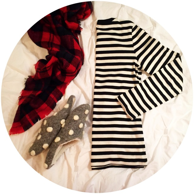 Plaid. stripes. polkadots. - sweetnsimpleblog