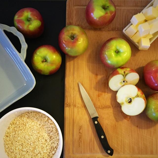 Apple crisp - sweetnsimpleblog