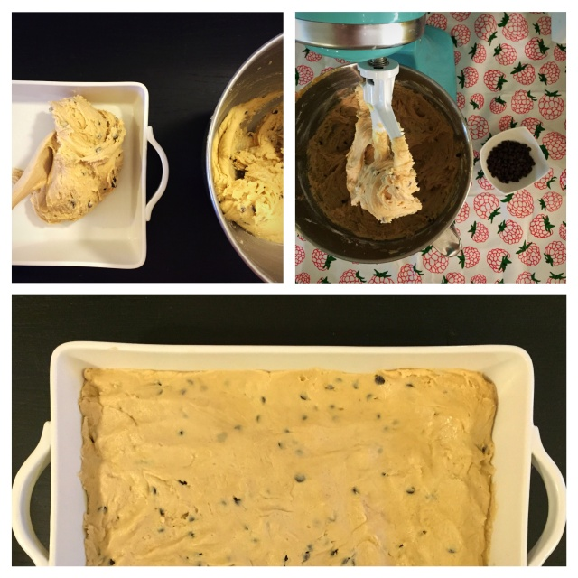 Peanut Butter Cookie Dough Fudge