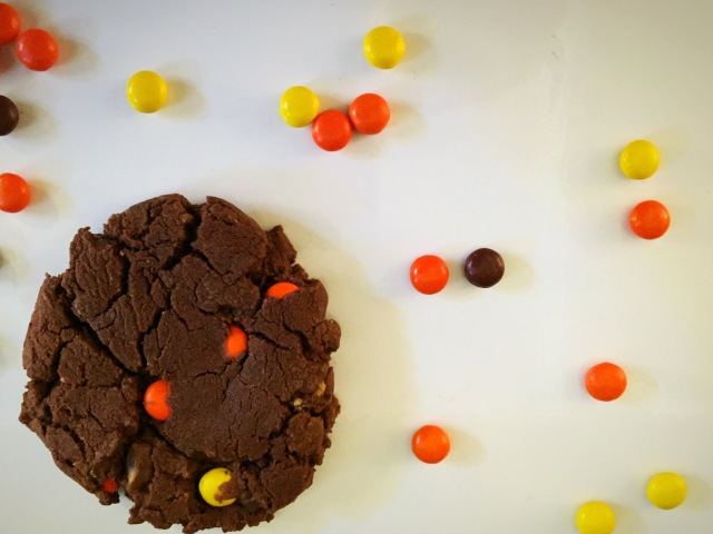 Reese's Peanut Butter and Chocolate Cookies