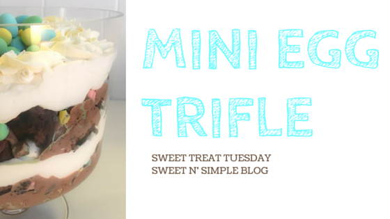 Mini Egg Trifle
