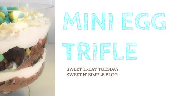 Mini Egg Trifle